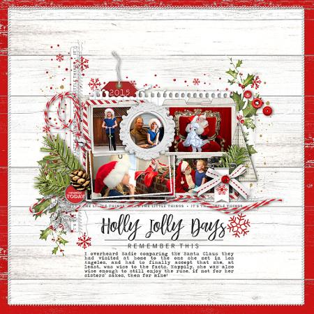 Holly jolly days