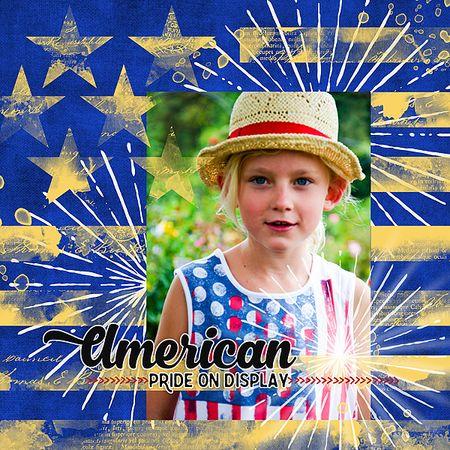 American pride on display