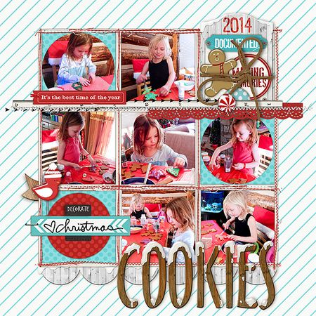 Baking Christmas cookies 2014