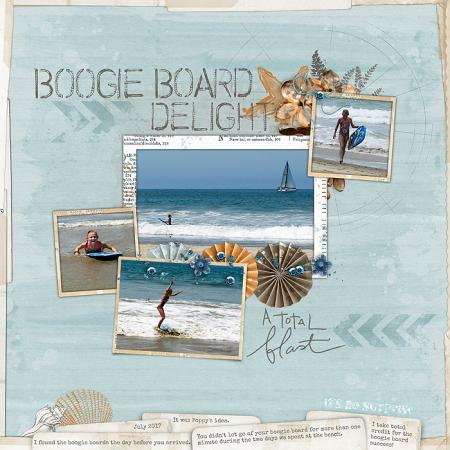 Sadie boogie board